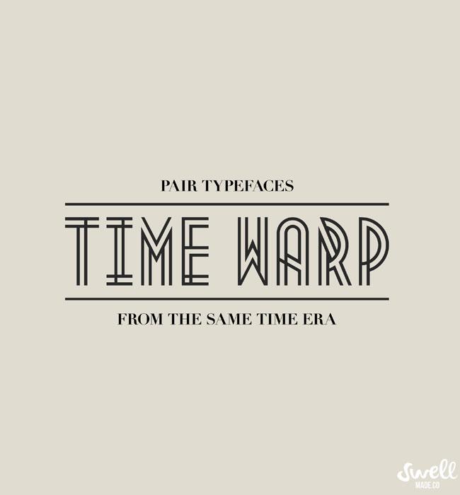 Lazy Girls Guide To Pairing Type | Time Warp