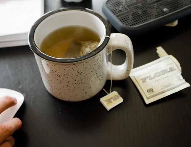 tea-tox tea for an evening night-cap #natural