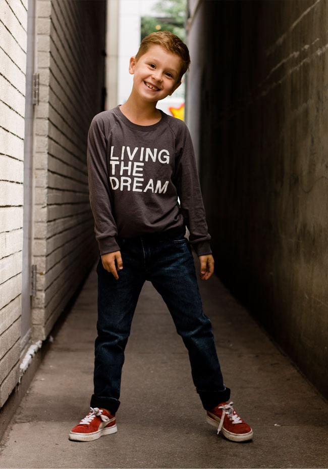 #livingthedream mini mioche tee
