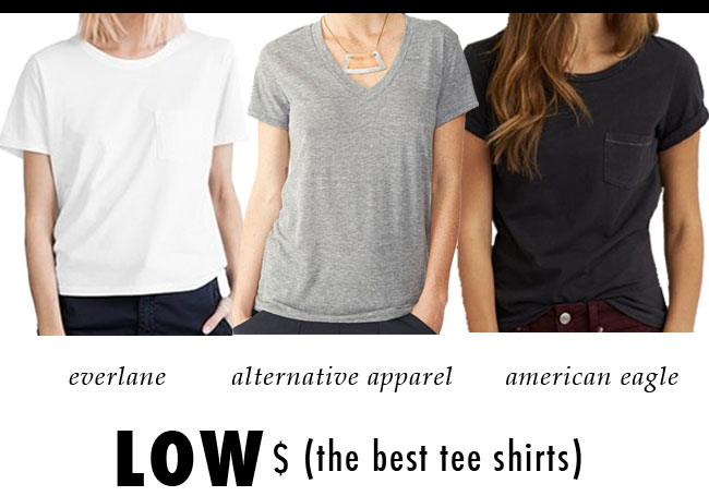 the best tee shirts / low price points