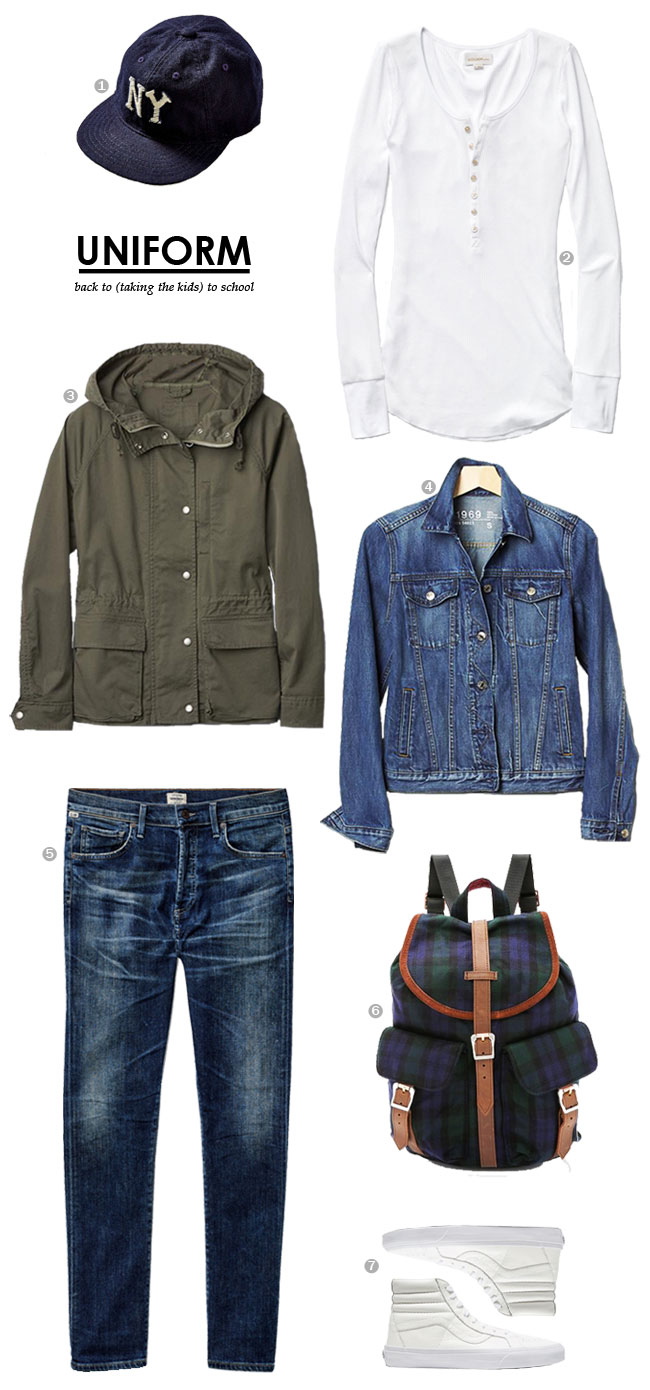 Uniform / Back To (taking the kids to) School #style