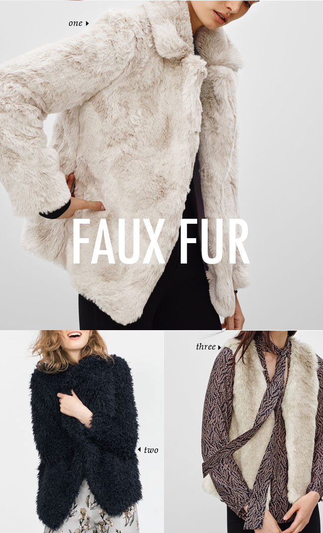 FALL WINTER 2015 TRENDS / faux fur #fallstyle