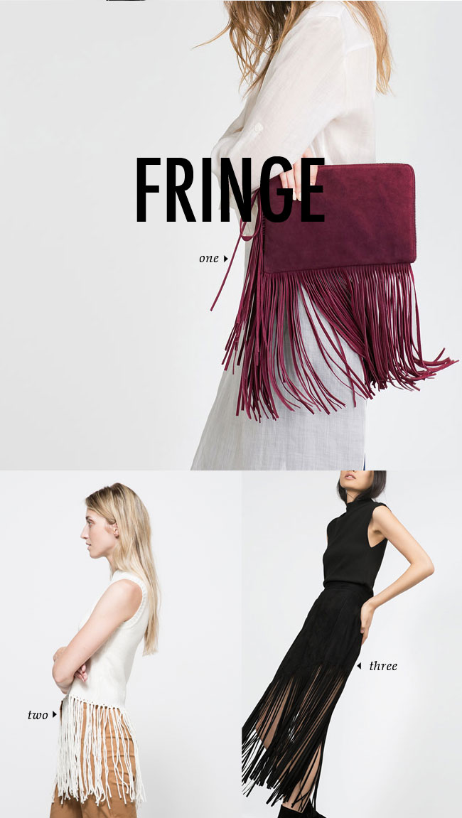 FALL WINTER 2015 TRENDS / fringe #fallstyle