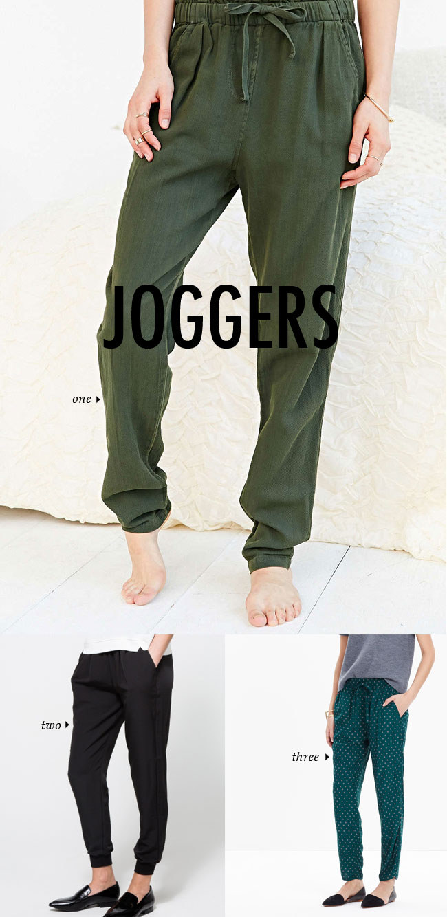 FALL WINTER 2015 TRENDS / joggers #fallstyle