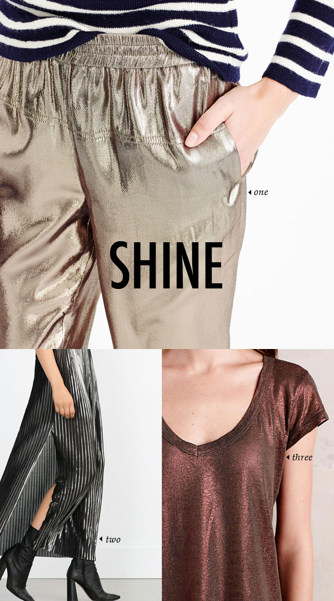 FALL WINTER 2015 TRENDS / shine #fallstyle