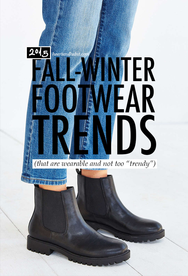 fall winter 2015 shoe and boot trends #footwear #trends