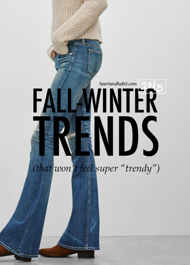 Fall-Winter 2015 Women's Trends For Everyday Wear #fallstyle #style