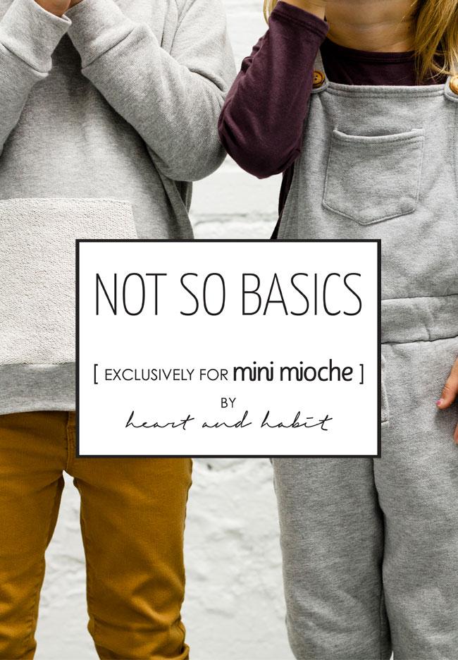 NOT SO BASICS for mini mioche by heart and habit #bestnotsobasics
