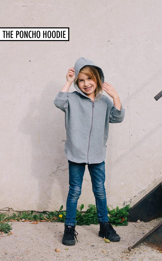 NSB poncho hoodie