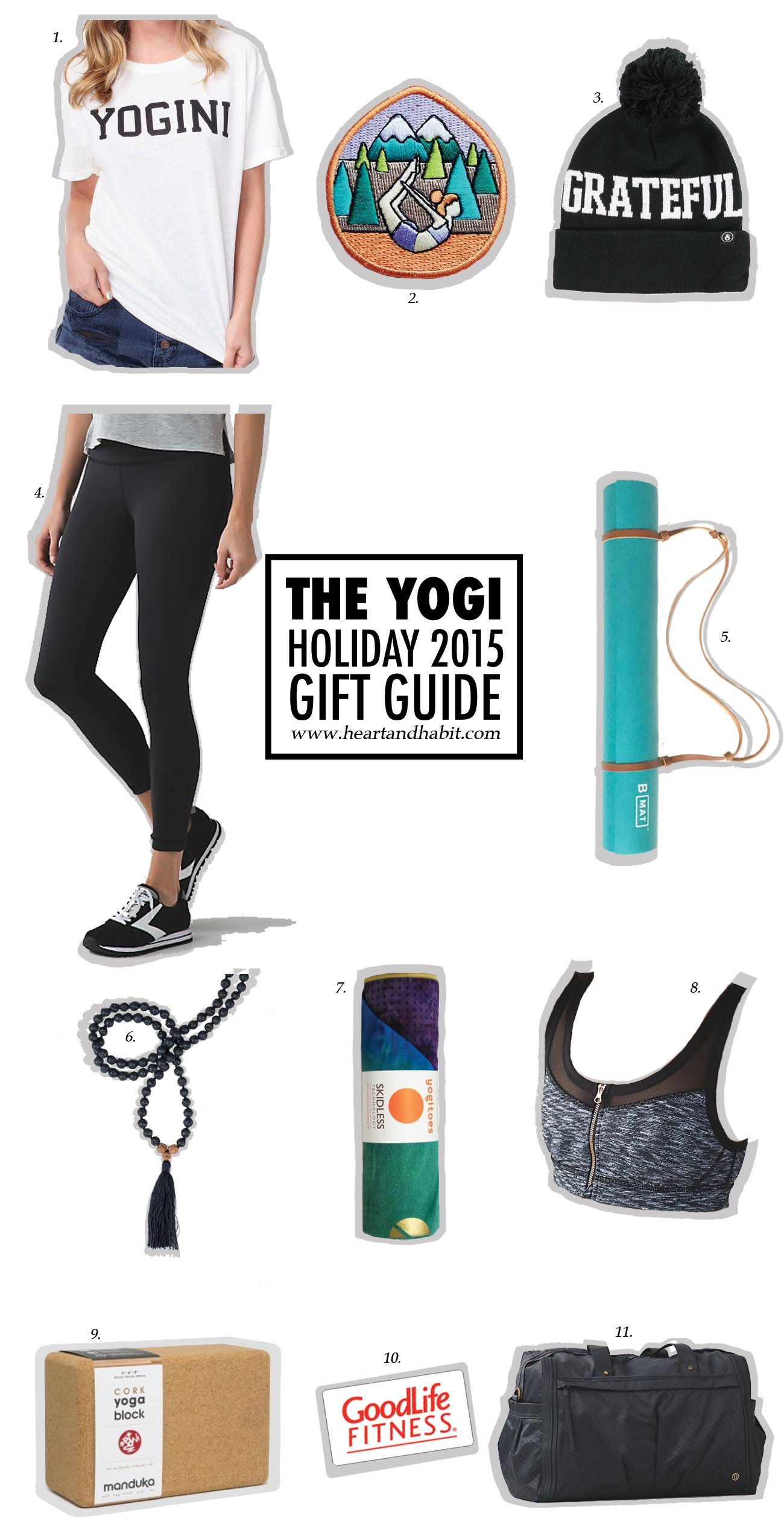 For The Yogi | 2015 Holiday Gift Guide