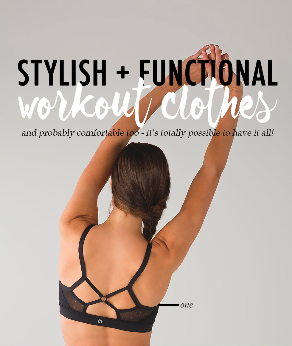 stylish + functional workout clothes #style #yoga