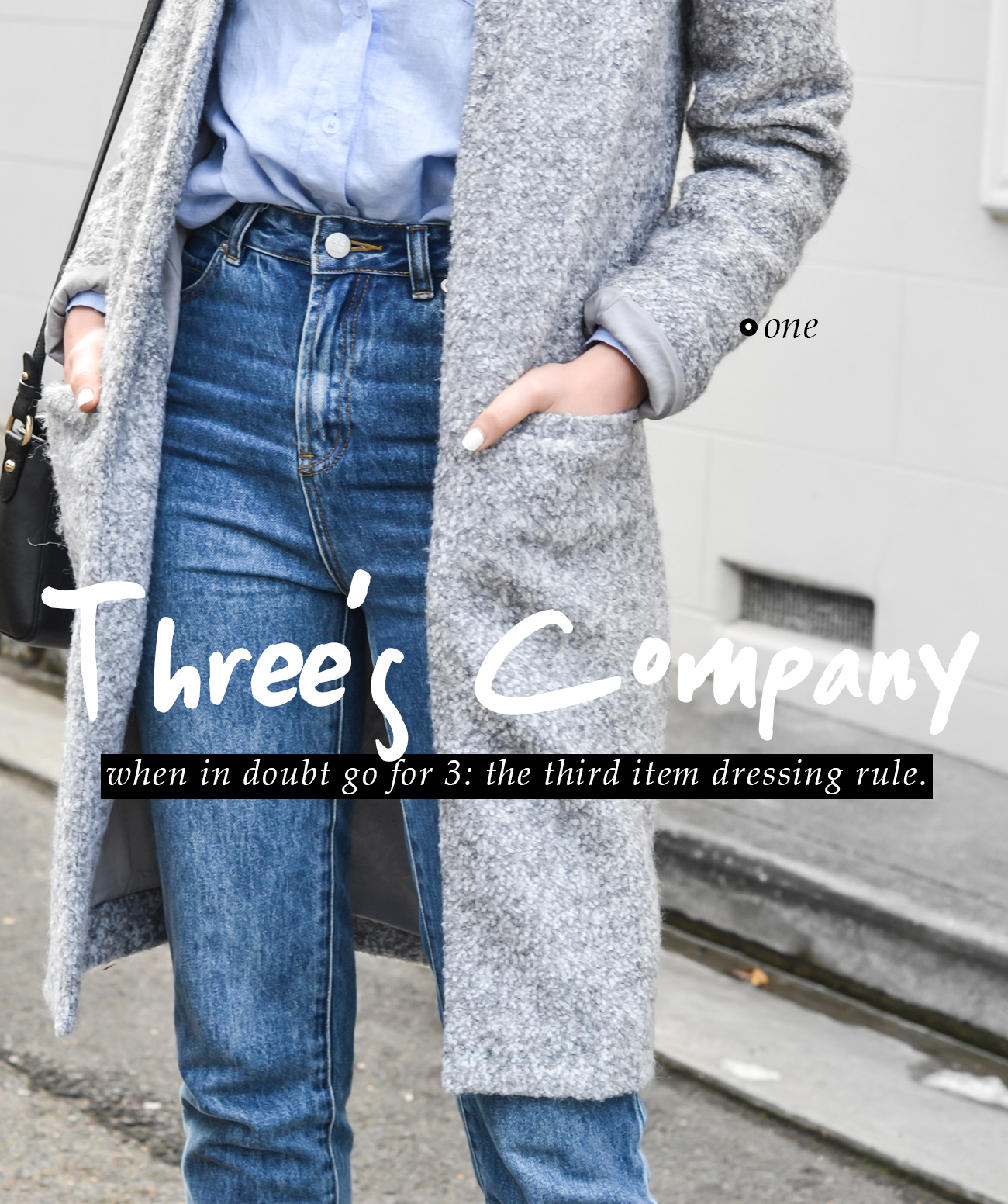 Three's Company: The Third Item Dressing Rule #style