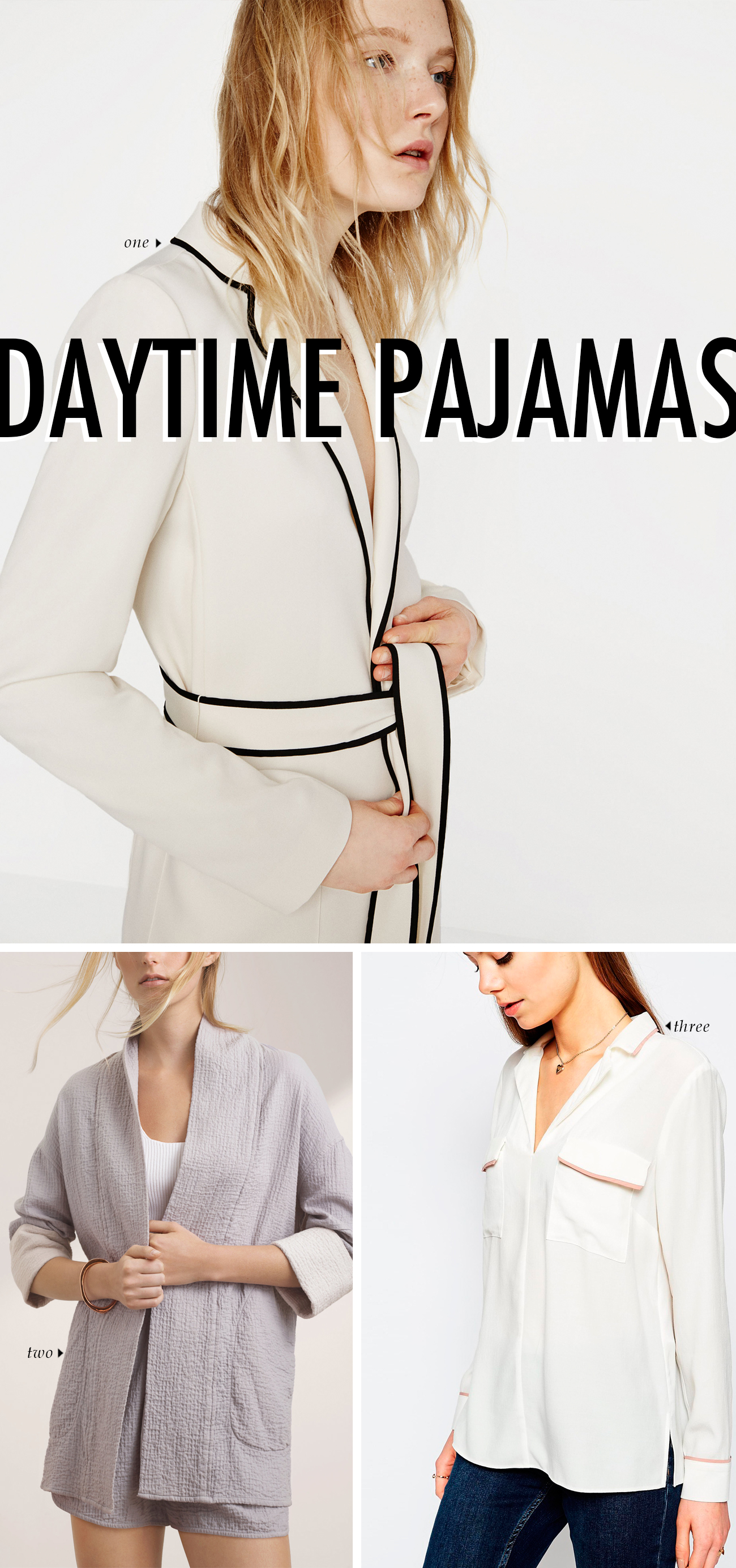 spring summer 2016 clothing trends - DAYTIME PAJAMAS #trends