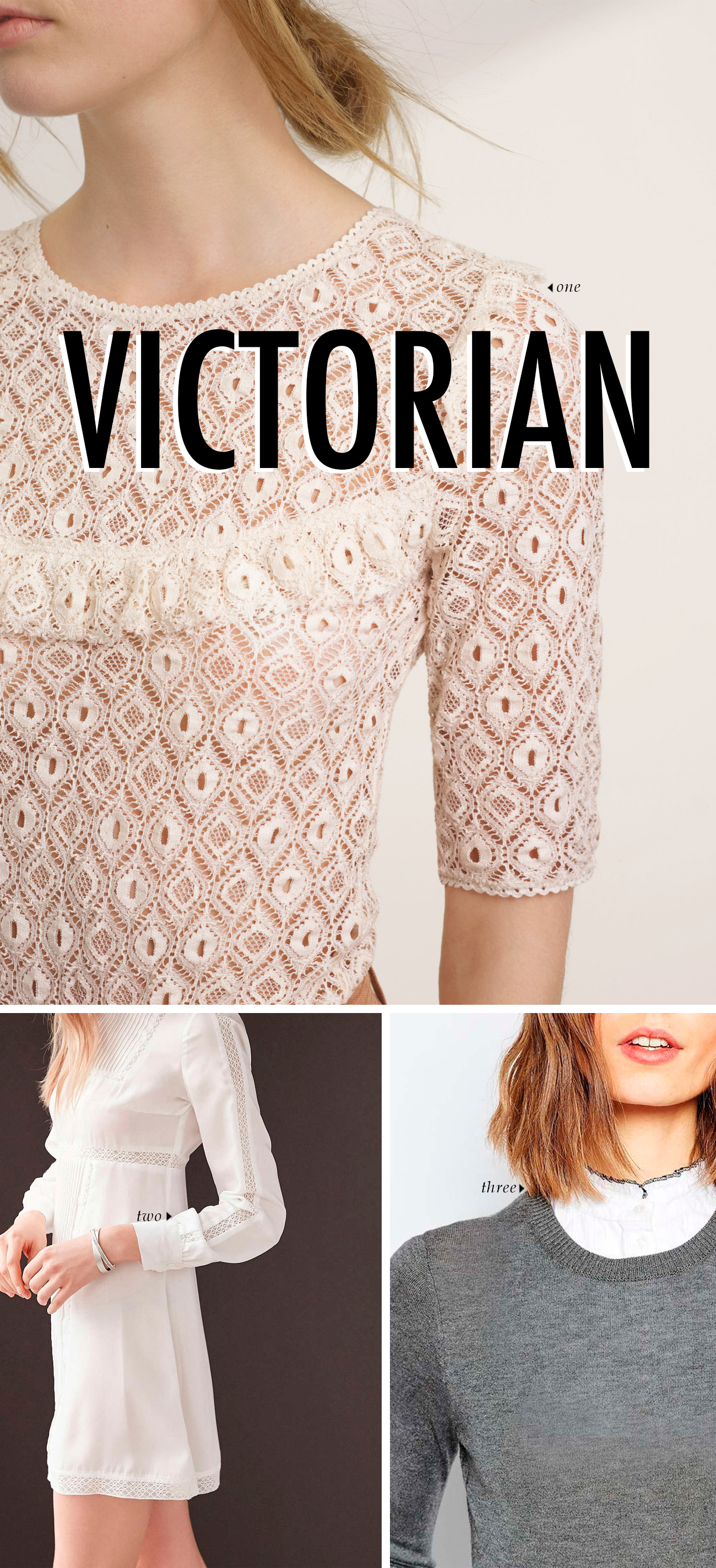 spring summer 2016 clothing trends - VICTORIAN #trends