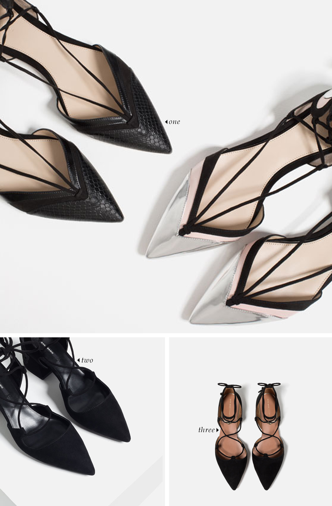 spring summer 2016 shoe trends | Pointed Toe