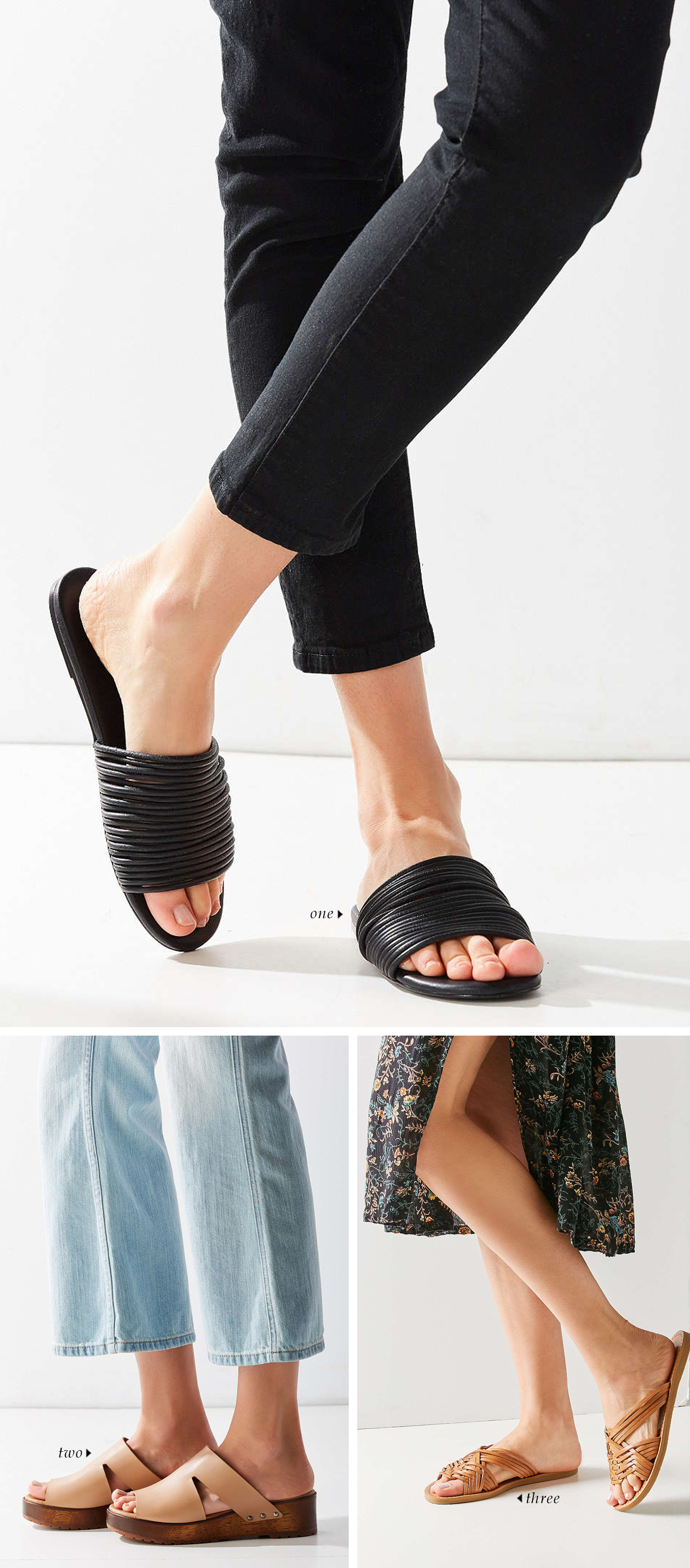 spring summer 2016 shoe trends | Slides